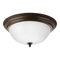 Signature 3 Light 15 inch Antique Bronze Close-to-Ceiling Ceiling Light in 15-1/4