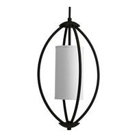 Progress Lighting Calven 2 Light Hall & Foyer in Forged Black P3937-80