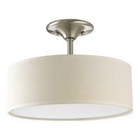 Inspire 2 Light 13 inch Brushed Nickel Chandelier Ceiling Light