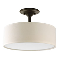 Progress P3939-20 Inspire 2 Light 13 inch Antique Bronze Semi-Flush Mount Ceiling Light