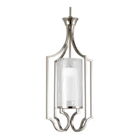 Caress 1 Light 14 inch Polished Nickel Hall & Foyer Ceiling Light
