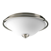Progress Lighting Moments 2 Light Flush Mount in Antique Nickel P3953-81