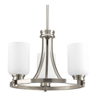 Progress Lighting Orbitz 3 Light Close-to-Ceiling in Brushed Nickel P3954-09