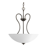 Heart 3 Light 18 inch Antique Bronze Hall & Foyer Ceiling Light