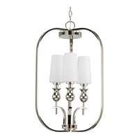Progress Lighting LadyLuck 3 Light Hall & Foyer in Polished Nickel P3960-104
