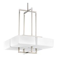 Progress Lighting Dibs 4 Light Hall & Foyer in Brushed Nickel P3968-09WB