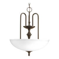 Progress Revive 3 Light Foyer Pendant in Antique Bronze P3971-20