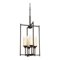 Progress Lighting Alexa 4 Light Foyer Pendant in Antique Bronze P3977-20