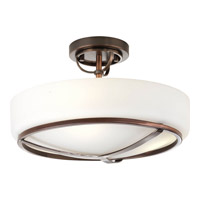 Progress Lighting Torque 3 Light Close-to-Ceiling in Copper Bronze P3978-124