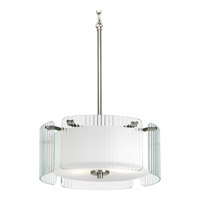 Progress Lighting Coupe 2 Light Pendant in Brushed Nickel P3979-09