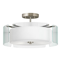 Progress Lighting Coupe 3 Light Pendant in Brushed Nickel P3980-09 alternative photo thumbnail