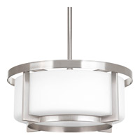 Progress Lighting Dynamo 2 Light Pendant in Brushed Nickel P3981-09
