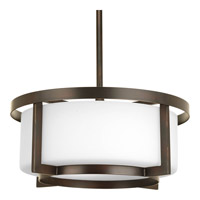 Progress Lighting Dynamo 2 Light Pendant in Antique Bronze P3981-20