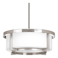 Progress Lighting Dynamo 3 Light Pendant in Brushed Nickel P3982-09