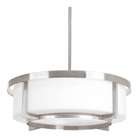 Progress Lighting Dynamo 3 Light Pendant in Brushed Nickel P3983-09