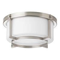 Progress Lighting Dynamo 2 Light Close-to-Ceiling in Brushed Nickel P3984-09