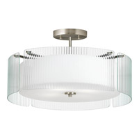 Progress P3985-09 Coupe 4 Light 24 inch Brushed Nickel Pendant Ceiling Light alternative photo thumbnail