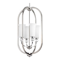 Progress P3987-104 Elina 4 Light 16 inch Polished Nickel Pendant Ceiling Light