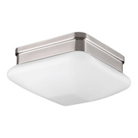 Appeal 1 Light 8 inch Brushed Nickel Flush Mount Ceiling Light