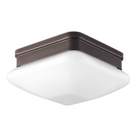 Appeal 1 Light 8 inch Antique Bronze Flush Mount Ceiling Light