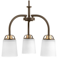 West Village 3 Light 20 inch Antique Bronze Chandelier Ceiling Light, Design Series