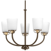 West Village 5 Light 25 inch Antique Bronze Chandelier Ceiling Light, Design Series