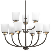 West Village 9 Light 31 inch Antique Bronze Chandelier Ceiling Light, Design Series