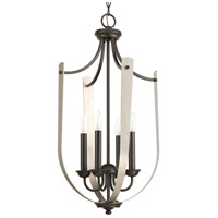 Noma 4 Light 16 inch Antique Bronze Hall & Foyer Ceiling Light