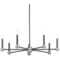 Foton 7 Light 32 inch Graphite Chandelier Ceiling Light, Design Series