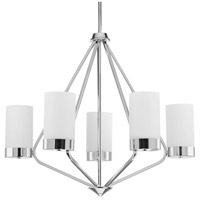 Elevate 5 Light 27 inch Polished Chrome Chandelier Ceiling Light