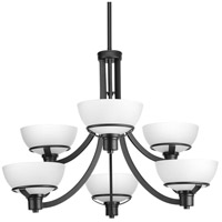 Domain 6 Light 32 inch Black Chandelier Ceiling Light