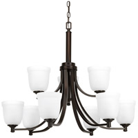 Topsail 9 Light 30 inch Antique Bronze Chandelier Ceiling Light