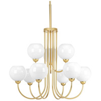 Carisa 9 Light 32 inch Vintage Gold Chandelier Ceiling Light
