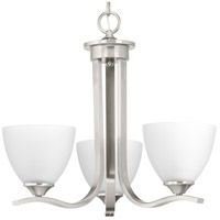 Laird 3 Light 20 inch Brushed Nickel Chandelier Ceiling Light