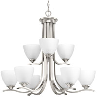 Laird 9 Light 28 inch Brushed Nickel Chandelier Ceiling Light