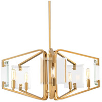 Cahill 5 Light 26 inch Brushed Bronze Chandelier Ceiling Light, Design Series