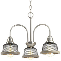 Tilley 3 Light 20 inch Brushed Nickel Chandelier Ceiling Light