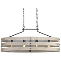 Gulliver 4 Light 39 inch Graphite Island Light Ceiling Light