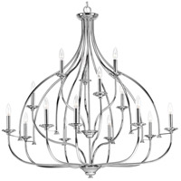 Tinsley 15 Light 42 inch Polished Chrome Chandelier Ceiling Light