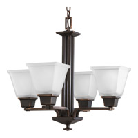 Progress P4001-74 North Park 4 Light 21 inch Venetian Bronze Chandelier Ceiling Light