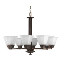 Progress P4004-74 North Park 8 Light 27 inch Venetian Bronze Chandelier Ceiling Light