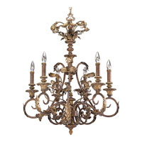 Progress Lighting Thomasville Elysian 6 Light Chandelier in Golden Brandy P4026-02