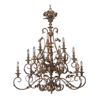 Progress Lighting Thomasville Elysian 15 Light Chandelier in Golden Brandy P4028-02