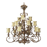 Progress Lighting Thomasville Elysian 15 Light Chandelier in Golden Brandy P4028-02 alternative photo thumbnail