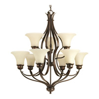 Applause 9 Light 29 inch Antique Bronze Chandelier Ceiling Light