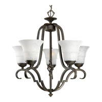 Melbourne 5 Light 24 inch Espresso Chandelier Ceiling Light