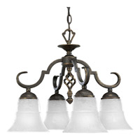 Melbourne 4 Light 20 inch Espresso Chandelier Ceiling Light