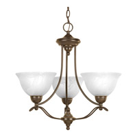 Progress Lighting Avalon 3 Light Chandelier in Antique Bronze P4067-20