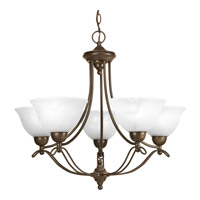 Progress Lighting Avalon 5 Light Chandelier in Antique Bronze P4068-20