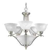Progress Lighting Avalon 5 Light Chandelier in Brushed Nickel P4069-09